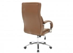 Καρέκλα γραφείου διευθυντή Filippo με PU χρώμα σκούρο καφέ