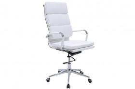 Καρέκλα γραφείου διευθυντή Tokyo με PU χρώμα λευκό