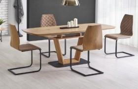 Blacky τραπέζι ανοιγόμενο 160/220Χ90Χ76