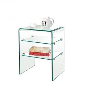 Ραφιέρα με γυαλί ZEM729  /  50x40x58 cm