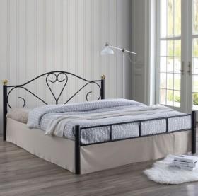 Κρεβάτι διπλό ZE8066 / 158x210x95 (Στρώμα 150x200) cm