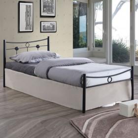 Kρεβάτι μονό ZE8068 / 96x205x83 (Στρώμα 90x200) cm