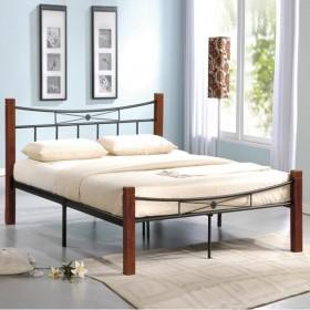 Κρεβάτι διπλό ZE8026 / 168x212x82 (Στρώμα 160x200) cm