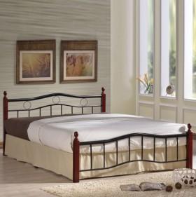 Κρεβάτι διπλό ZE8037 / 148x202x82(Στρώμα 140x190)cm