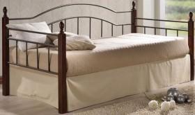 Κρεβάτι μονό ZE8072 / 98x201x99 (Στρώμα 90x190) cm