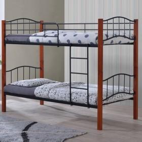 Κρεβάτι κουκέτα ZE8047 / 97x210x150 (Στρώμα 90x200)cm