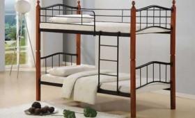 Κρεβάτι κουκέτα ZE8038 / 98x210x159 (Στρώμα 90x200) cm
