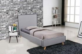 Kρεβάτι ZE8081,1 /  101x206x110 (Στρώμα 90x190) cm
