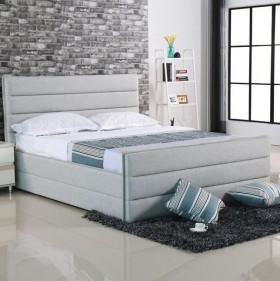 Κρεβάτι ZE8077 / 192x218x116(Στρώμα 180x200) cm