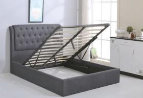 Κρεβάτι με αποθηκευτικό χώρο ZE8093,1 / 166x221x104 (Στρώμα 160x200)cm