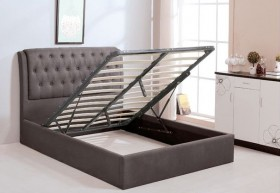 Κρεβάτι με αποθηκευτικό χώρο ZE8093,2 / 166x221x104 (Στρώμα 160x200)cm