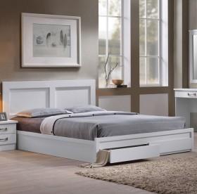 Κρεβάτι διπλό με συρτάρια ZEM363,1 / 168x207x93 (Στρώμα 160x200) cm