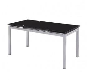 Τραπέζι ZEM981 / 110+(30+30)x70 H.76 cm