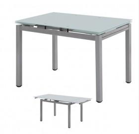 Τραπέζι ZEM981,1 /  110+(30+30)x70 H.76 cm
