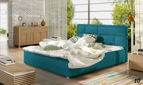 P/Latina κρεβάτι επενδυμένο