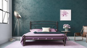 Sam μεταλλικό κρεβάτι