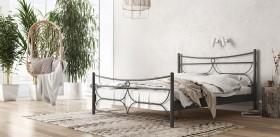 Pier Μεταλλικό κρεβάτι