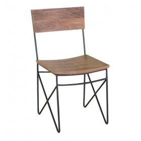 Καρέκλα ZEA7108 / ΔΙΑΣΤΑΣΕΙΣ 44x40x83 cm