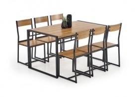 Bolivar Σετ τραπεζαρία κουζίνας με 6 καρέκλες
