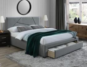 Valery 160 κρεβάτι με αποθηκευτικό χώρο