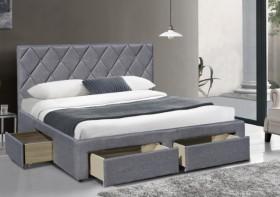 Betina 160 κρεβάτι με αποθηκευτικό χώρο
