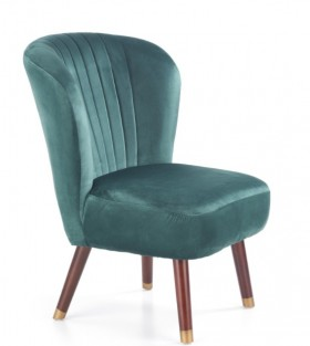 Lanister πολυθρόνα πράσινη 65x57x78/46 cm