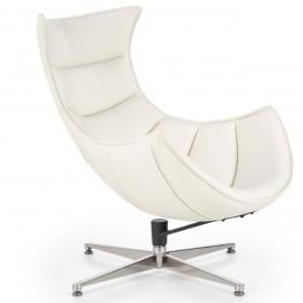 Luxor πολυθρόνα Λευκή 76x84x96/36 cm
