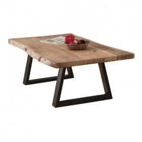 Τραπεζάκι σαλονιού ZEA7101,S /ΔΙΑΣΤΑΣΕΙΣ 115x65x40cm  Πάχος ξύλου 2.5cm