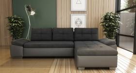K/Jack Καναπές γωνία με κρεβάτι και αποθηκευτικό χώρο 285x169x70 cm