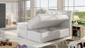 Balvin Κρεβάτι boxspring με στρώμα και αποθηκευτικό χώρο