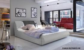 Flavio κρεβάτι με στρώμα και αποθηκευτικό χώρο