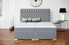 C/Dalia κρεβάτι boxspring με στρώμα και αποθηκευτικό χώρο
