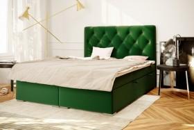 C/Roma Κρεβάτι boxspring με στρώμα και αποθηκευτικό χώρο