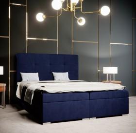 C/Loft κρεβάτι boxspring με στρώμα και αποθηκευτικό χώρο