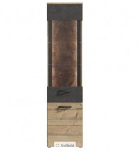 Kalomira βιτρίνα 50.2x41.3x204 cm