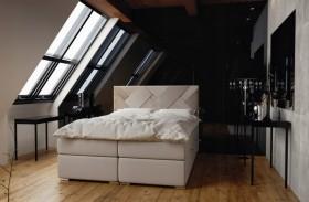 C/Belize κρεβάτι boxspring με στρώμα και αποθηκευτικό χώρο