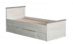 Luca Juzi κρεβάτι 90.5x205x86