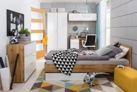 Zele κρεβάτι 165x204.5x85.5 cm