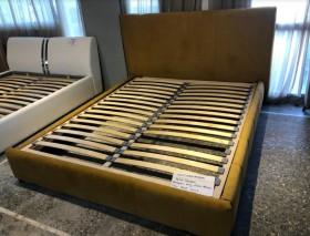 Aura κρεβάτι με αδιάβροχο ύφασμα για στρώμα 160x200 Bazaar