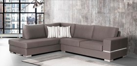 Calliope καναπές γωνία280x220x90 cm με αδιάβροχο-easy clean ύφασμα bazaar