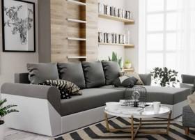 K/ Dixi καναπές γωνία με κρεβάτι και αποθηκευτικό χώρο 240x143 cm