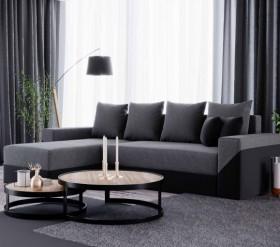 K/ Tip καναπές γωνία με κρεβάτι και αποθηκευτικό χώρο 229x145 cm