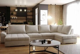 K / Cascada καναπές γωνία με κρεβάτι  Bazaar  342x192x162 cm