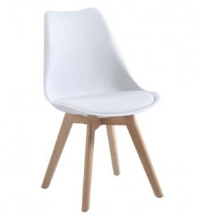 Καρέκλα ZEM136,10W / 48x56x82cm