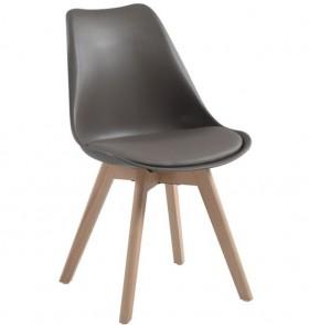 Καρέκλα ZEM136,90W / 48x56x82cm