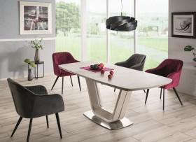 S/ Armani Ceramic τραπέζι ανοιγόμενο γκρι 160/220Χ90Χ76
