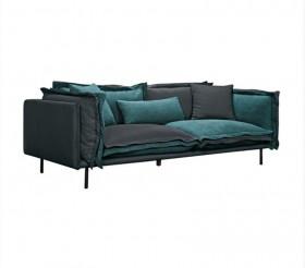 Καναπές 3/θέσιος ZE9653 / ΔΙΑΣΤΑΣΕΙΣ 223x100x63/74cm