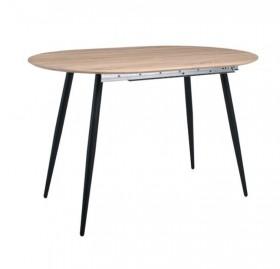 Τραπέζι Επεκτεινόμενο ZEM851 / ΔΙΑΣΤΑΣΕΙΣ 120+(40)x80x75cm
