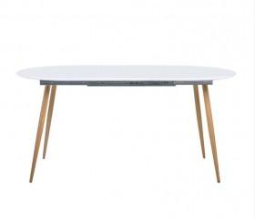 Τραπέζι Επεκτεινόμενο ZEM852 / ΔΙΑΣΤΑΣΕΙΣ 120+(40)x80x75cm