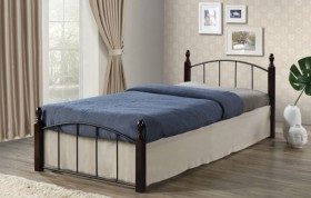 Κρεβάτι μονό ZE8096 / ΔΙΑΣΤΑΣΕΙΣ 95x200x76 (Στρώμα 90x190)cm